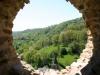 porthole within the castle