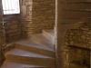 Stone tower staircase in Maison de Tourelle